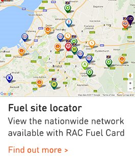 Fuel site locator